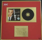 ROBBIE WILLIAMS-CD Album Award-I'VE BEEN EXPECTING YOU